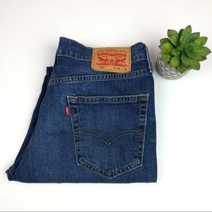 Levi's 514 Denim Blue Jeans 34x30 Men